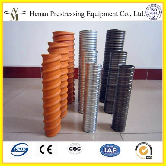 Cnm-Gd 35nmm to 200mm Galvanized Metal Ducts for Post Tensioning