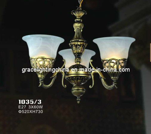 Lighting Factory Decoration Pendant Lamp Glass Chandelier pictures & photos
