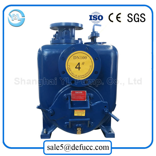 Good Quality 4 Inch Self Priming Drain Pump with Electric pictures & photos