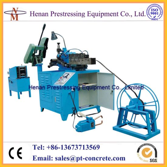 Post Tensioning Duct Making Machine Supplier Made in China