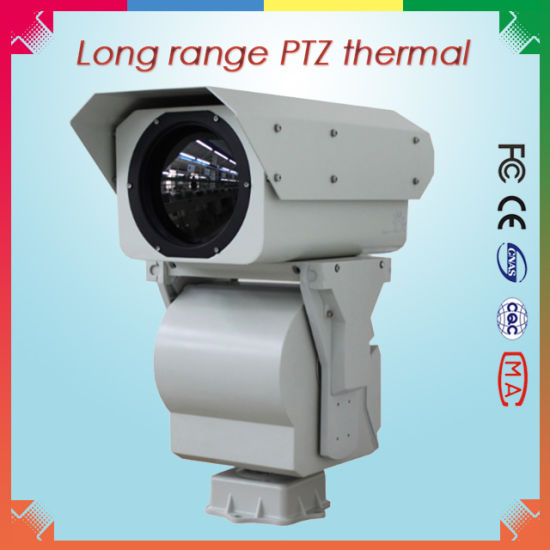 Long Range PTZ IR Thermal Imaging Camera for 8.6km Surveillance pictures & photos