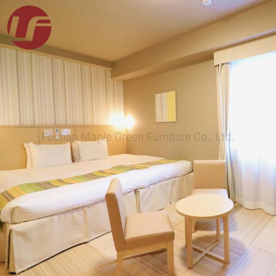 Light Color Wood Oak Veneer Wardrobe for Hotel Furniture