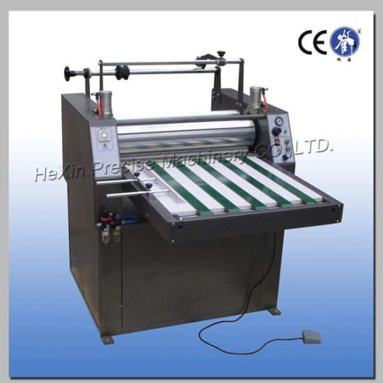 Automatic Pneumatic Copper Clad PCB Board Laminating Machine pictures & photos