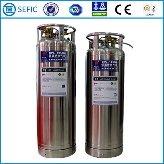 Liquid Nitrogen Oxygen Argon CO2 Gas Cylinder (DPL-450-175) pictures & photos