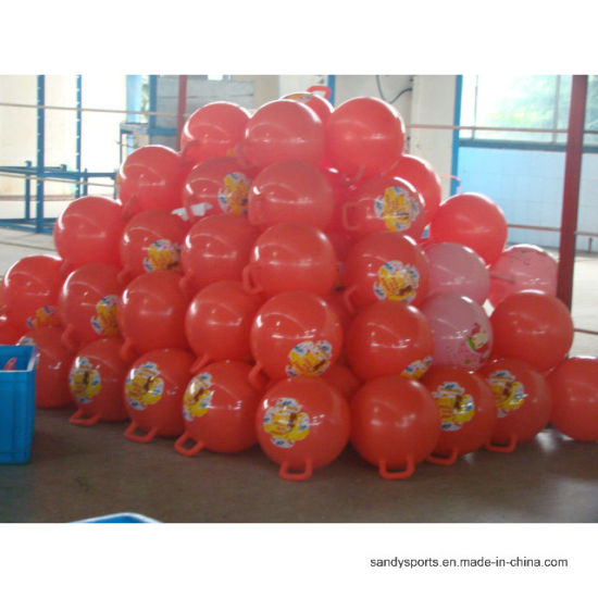 "15"" 500g Rectangle Handle PVC Hopper Ball pictures & photos"