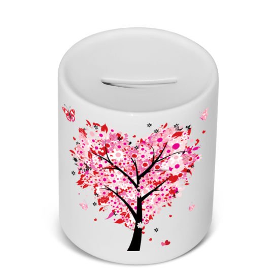 Popular Kids Christmas Gift White Blank Personalized Sublimation Money Bank pictures & photos