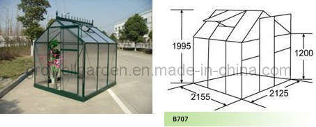 Extendable Large Greenhouse for Hobby (B707)