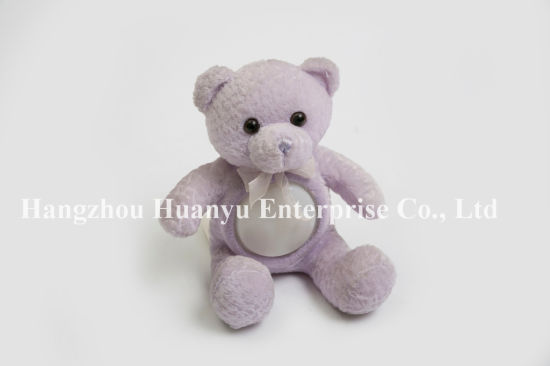 Factory Supply Baby Evening Light Teddy Bear Stuffed Plush Toy