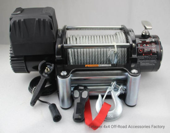 12V 24V 12000lbs off Road 4X4 Electric Winch