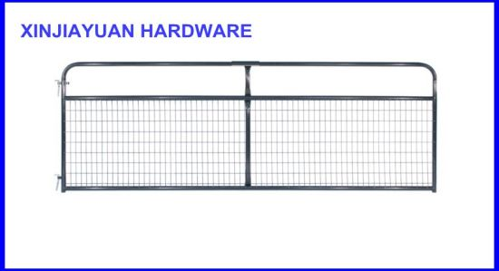 "1-5/8"" Tubular Frame Farm Gate Wire Mesh Filled for Cattle pictures & photos"