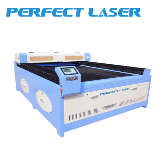 CO2 PVC Wood Cutting Screen Protector Laser Cutter Machine for Textile Fabric Cloth pictures & photos