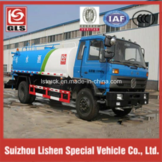 4X2 Dongfeng 9200L Water Tank Truck pictures & photos