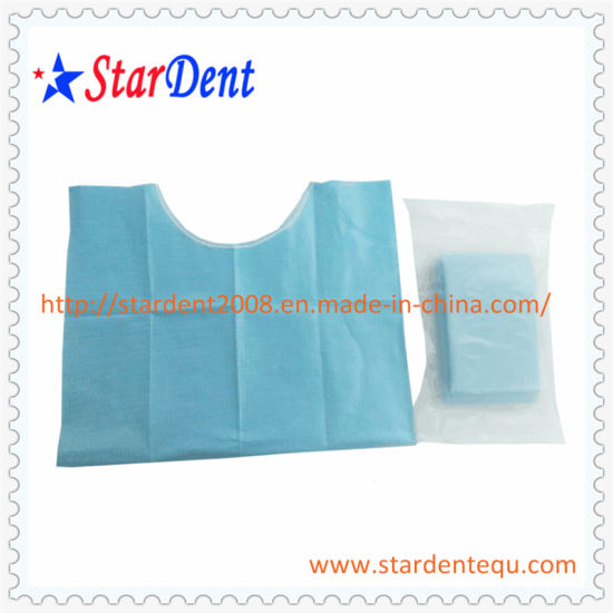 Disposable Dental Bibs with String pictures & photos