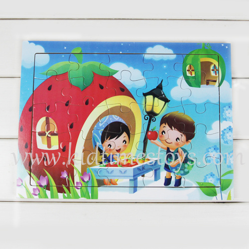 New Design Wooden Jigsaw Puzzle