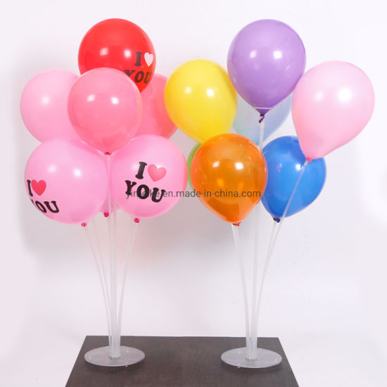 Wedding Birthday Party Decoration Supplies Transparent Balloon Table Floating Bracket pictures & photos