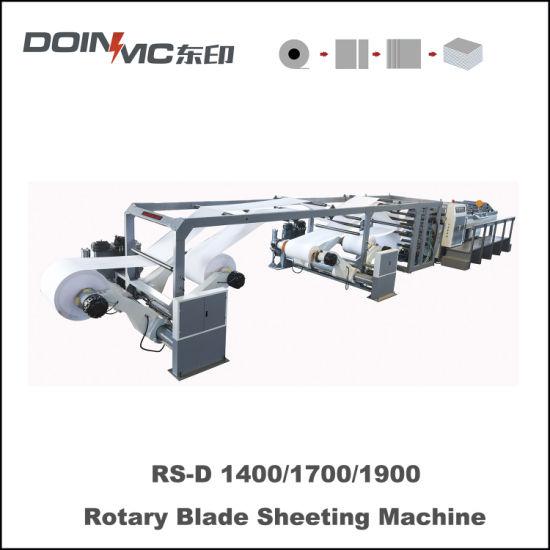Blank Paper Roll Sheeting Machine for Paper Box Jumbo Reel