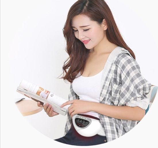 Zh42160005-0920 USB Rechargeable White Infrared Uterus Massage Ladies Warm Palace Belt