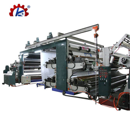 High Speed Wide Web Doctor Blade Flexo Printing Press Machine Price