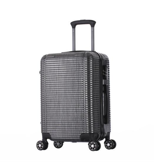 Best Quality PC Luggage 4wheels Tsa Lock Leisure Design 3PCS Set Cabin Size Suitcase (XHP139)
