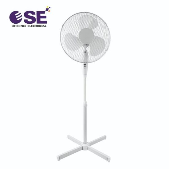 Popular Plastic Electrical Air Cooling 16 Inch Stand Fan