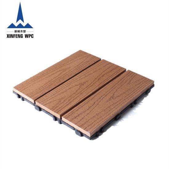 Waterproof Decking WPC DIY Tile Composite Tile