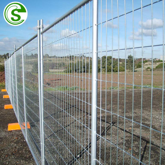 Outdoor Security Temporary Wire Mesh Panels Mobile Fencing for Garden