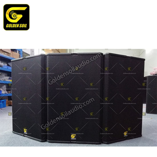 T24n Line Array Speaker PA Audio Sound System Double 12 Inch Full Range Speaker, Bi-AMP Sound System