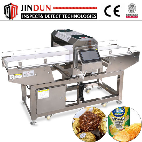 Conveyor Aluminum Foil Packaging Food Chocolate Candy Metal Detector