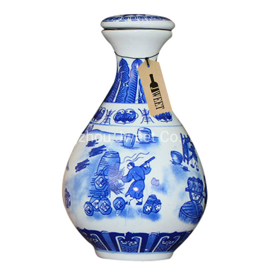 1.75 L Large Volume Capacity Ceramic Bottle