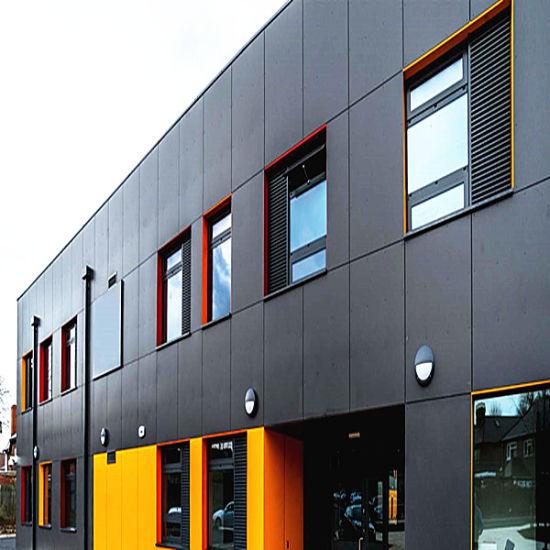 Advertising Board Acm Aluminium Composite Panel Mutiple Colour Facade