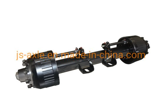 Axle Germany Type Axle Rear Axle 12t 13t 14t 16t Trailer Axle Truck Axle for Semi Trailer Vehicle Part and Auto Spare Part