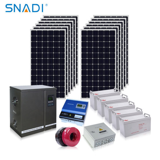 Foshan Factory 3kw 5kw 10kw PV Panel Solar Power Systems