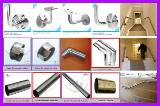 Railing with Titanium Stainless Steel Tube pictures & photos