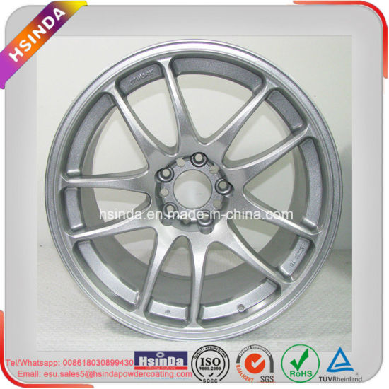 Ral 9006 Reflective Metallic Effect Silver Wheel Rim Paint Powder Coating pictures & photos