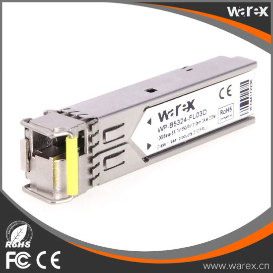 Cisco 1000Base SFP Compatible BIDI Transceiver TX 1550nm RX 1310 SMF pictures & photos
