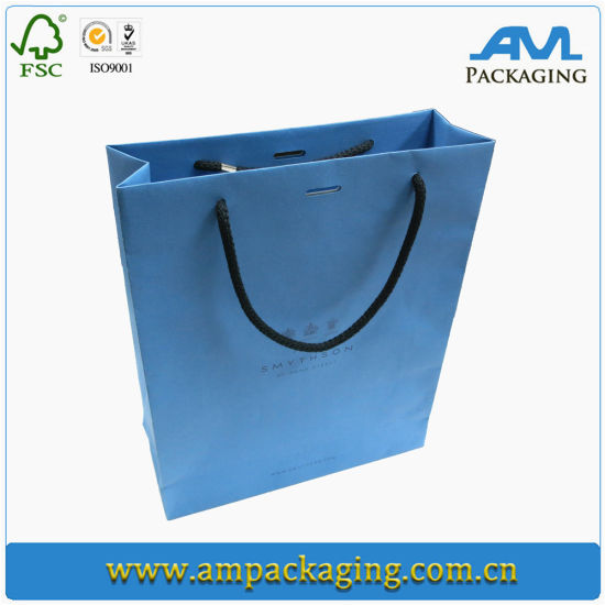 Gift Carrier Packaging Large Paper Bags with Color Printing and Rope Handle pictures & photos
