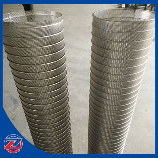 Johnson Wedge Wire Screen/ Slotted Filter Tube/Jhonson Tube, Wedge Wire Screen/Pipe pictures & photos