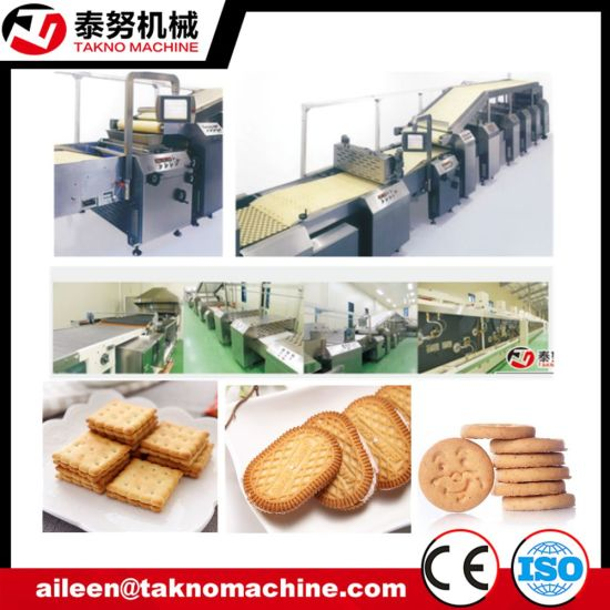 Tn Full Automatic Industrial Biscuit Making Machine Production Line for Sale Price pictures & photos