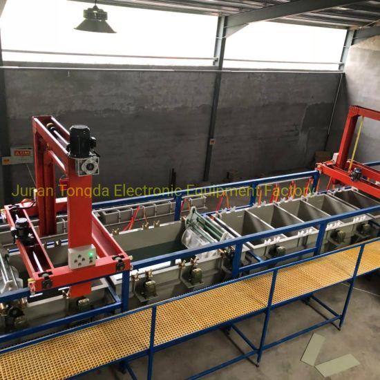 Junan Tongda Yellow Zinc Plating Machine for Hex Cap Screw