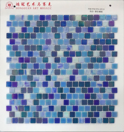 Glass Mosaic for Pool pictures & photos