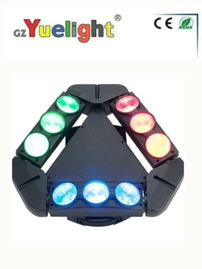 9PCS*12W LED Spider Beam LED Moving Head Light