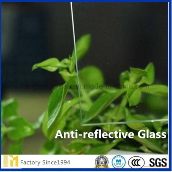 China Anti-Glare Non-Glare Glass for Picture Framing - China Non ...