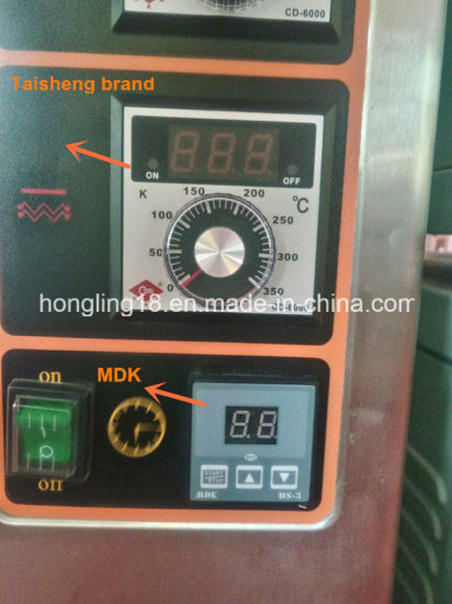 Hongling Double Deck 4 Trays Electric Deck Bakery Oven Commercial pictures & photos