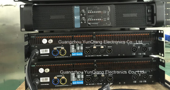 Fp14000 Professional Power Amplifier Wholesale Stereo AMPS 8ohm 2X2350W pictures & photos