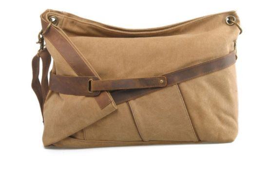 Young Ladies′s Canvas Leather Shoulder Bag (RS-6625) pictures & photos