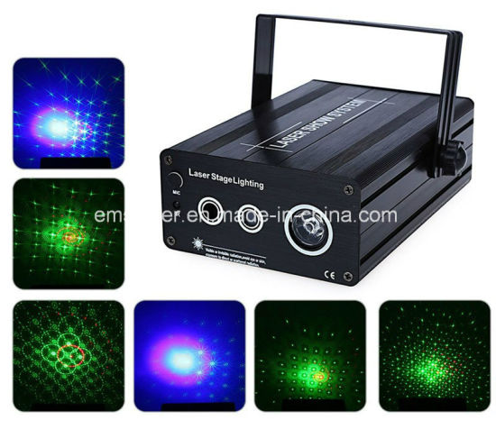 48 Patterns Dreamlike Lighting LED Laser Light Famliy Party Disco Stage Projector with Remote Control pictures & photos