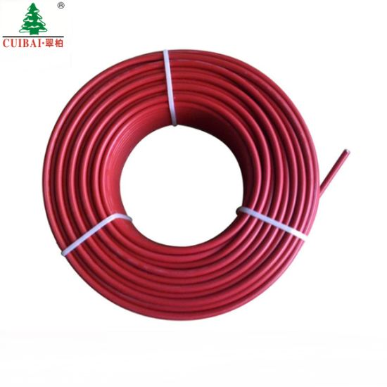 PV-1f 4AWG Sunlight Resistant Electric PV Solar Power Cable