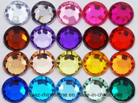 Wholesale Austrian Rhinestones Crystal Glass Bead 6mm Glass Crystal (FB-Sapphire 6mm) pictures & photos