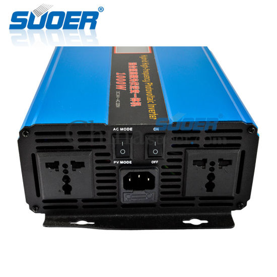 Suoer Frequency Photovoltaic 1000W DC 24V to AC 220V Sine Wave Inverter (SON-SUW1500VA) pictures & photos