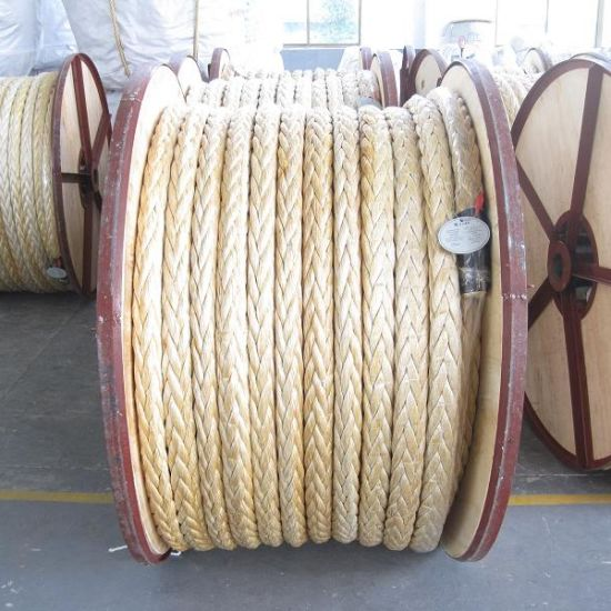 High Strength 12 Strand UHMWPE Rope for Marine pictures & photos